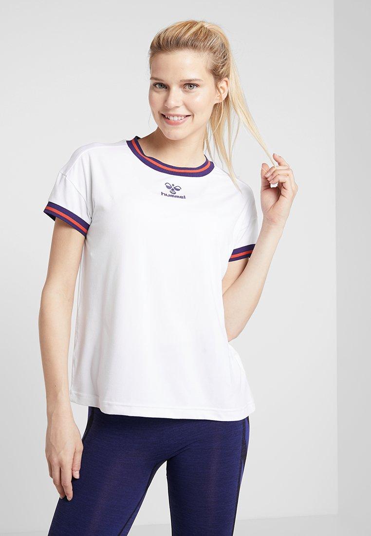 Hummel - FLOW - Camiseta estampada - white