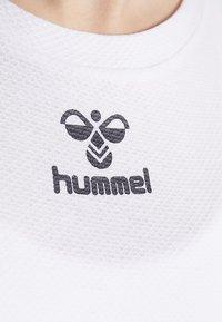 Hummel - FRAME - Pitkähihainen paita - white - 5