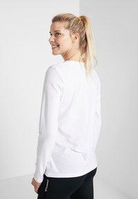 Hummel - FRAME - Pitkähihainen paita - white - 2
