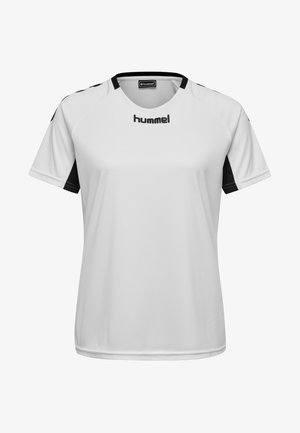 CORE TEAM  - T-shirt z nadrukiem - white