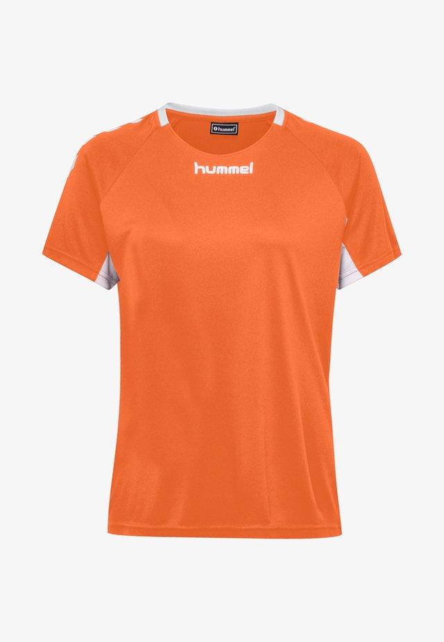 CORE TEAM  - T-shirts print - orange