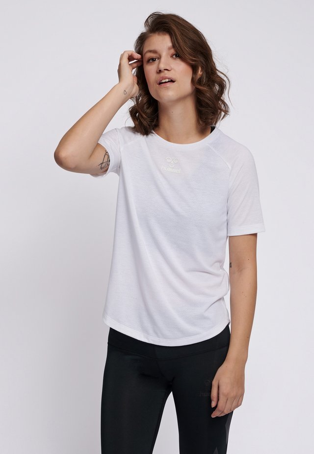HMLVANJA - T-shirts basic - white