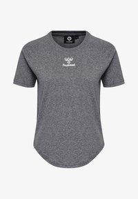 Hummel - PEYTON  - Print T-shirt - black - 3