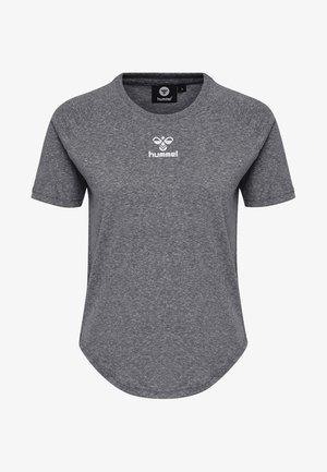 PEYTON  - Print T-shirt - black