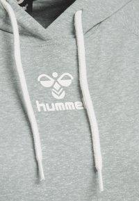 Hummel - HMLPEYTON - Long sleeved top - quarry - 4