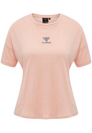 Print T-shirt - desert pink