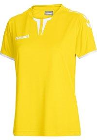 Hummel - CORE SS - T-shirts print - sports yellow pr - 2