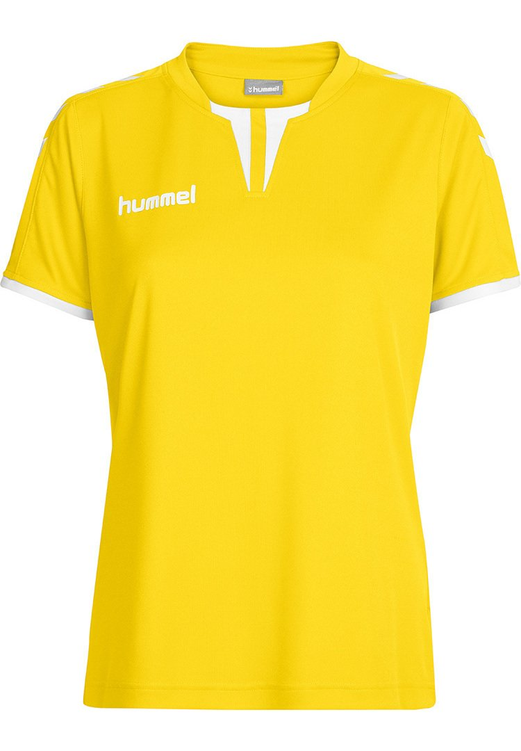 Hummel - CORE SS - T-shirts print - sports yellow pr