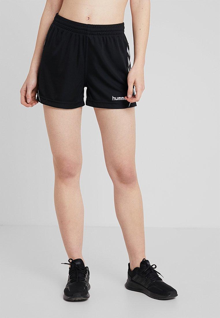 Hummel - CHARGE SHORTS - Krótkie spodenki sportowe - black