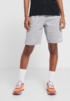 HMLGO BERMUDA - Sports shorts - grey melange