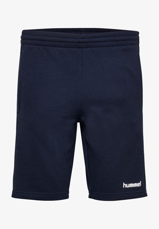 HMLGO BERMUDA - Korte sportsbukser - marine