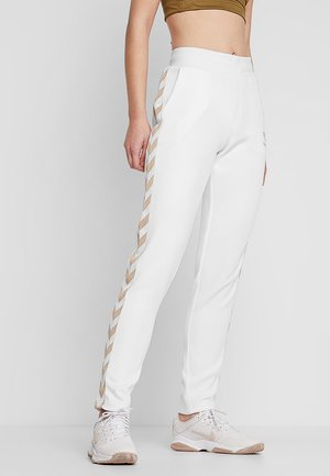 MARIA PANTS - Tracksuit bottoms - white