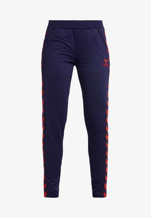 NELLY PANTS - Tracksuit bottoms - purple