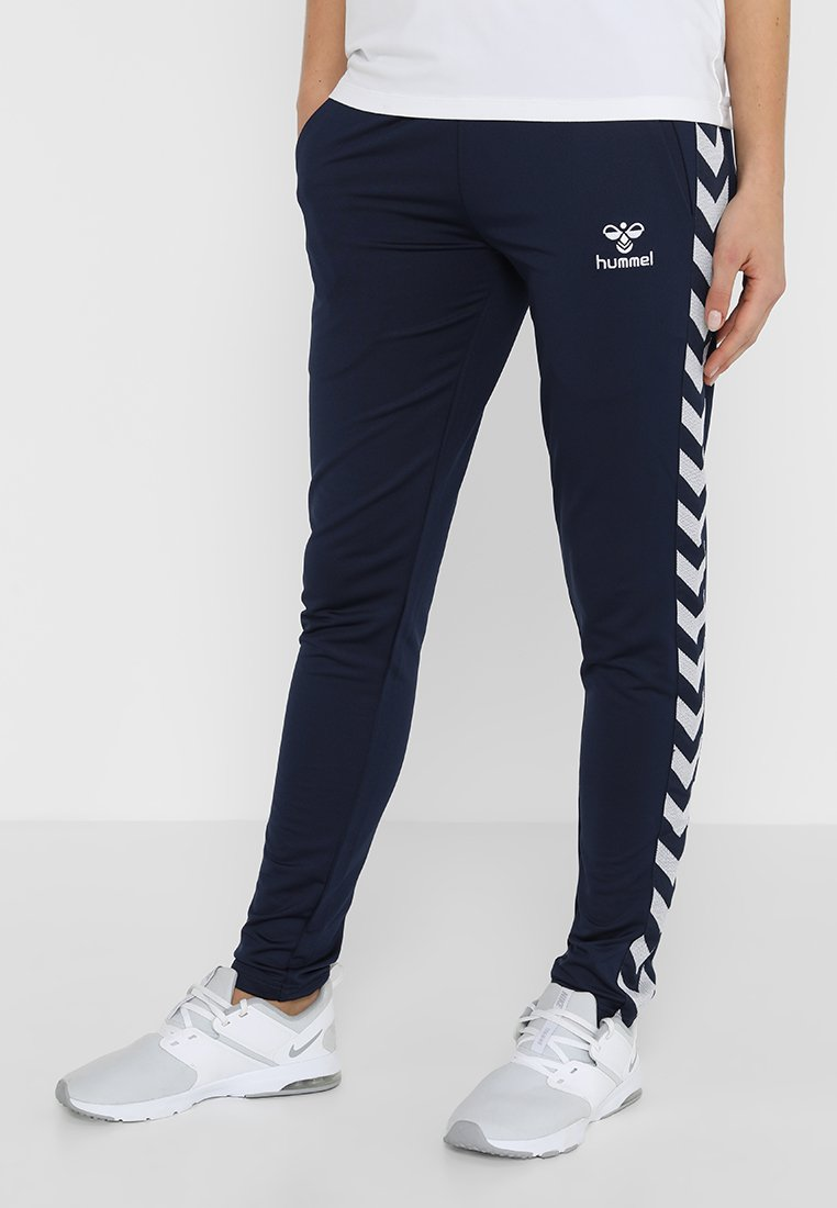 Hummel - NELLY PANTS - Verryttelyhousut - black iris