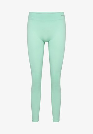 CLASSIC BEE CI SEAMLESS - Tights - ice green melange