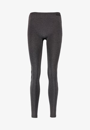 CLASSIC BEE CI SEAMLESS - Leggings - black melange