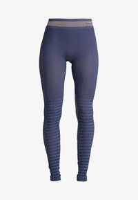 Hummel - SEAMLESS - Leggings - black iris - 4