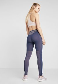 Hummel - SEAMLESS - Leggings - black iris - 2