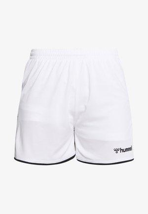 AUTHENTIC SHORTS WOMAN - Pantalón corto de deporte - white