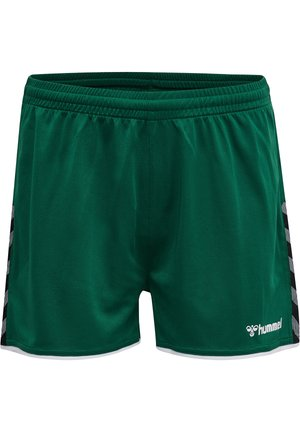 HMLAUTHENTIC  - Sports shorts - evergreen