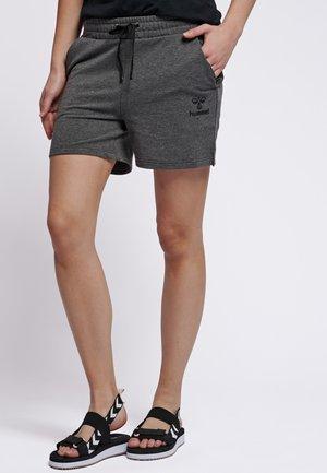 HMLNICA  - Sports shorts - dark grey melange