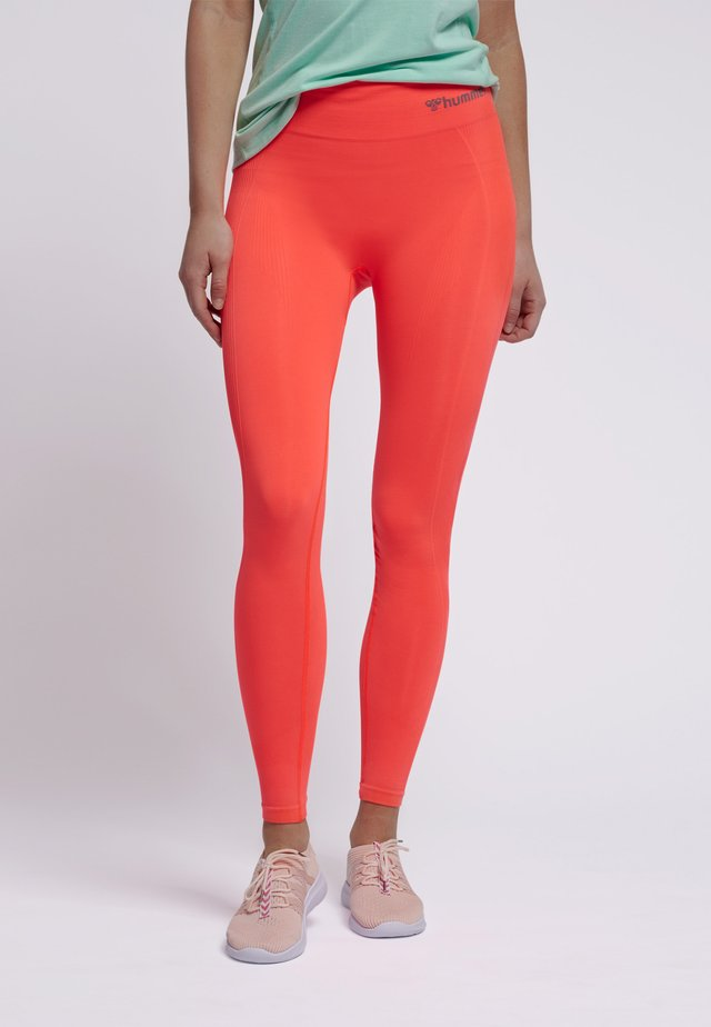 HMLTIF  - Tights - fiery coral