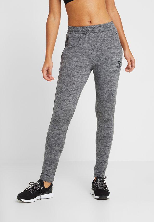 Træningsbukser - dark grey melange