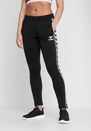 SLIM PANTS - Pantalones deportivos - black