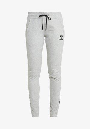 HMLNICA - Teplákové kalhoty - grey melange