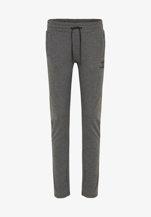 HMLNICA - Tracksuit bottoms - dark grey melange