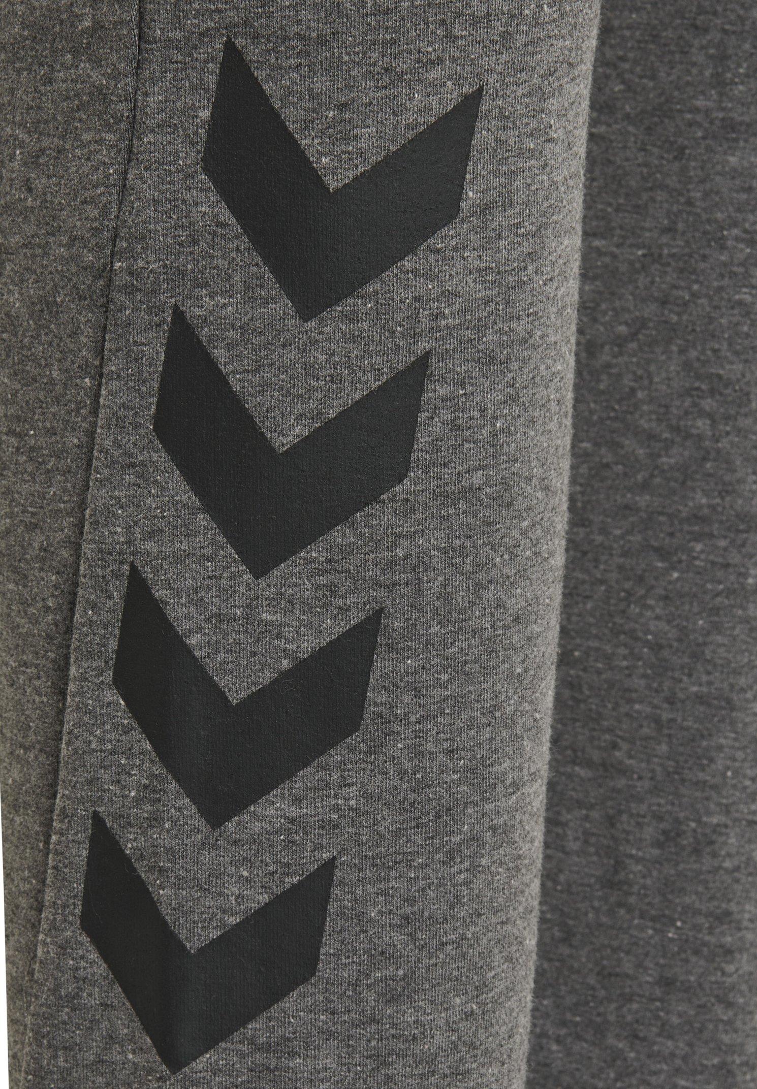 Hummel Hmlnica - Träningsbyxor Dark Grey Melange