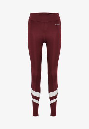 Leggings - burgundy