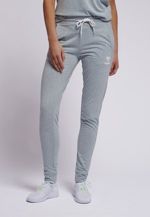 PEYTON - Tracksuit bottoms - light grey