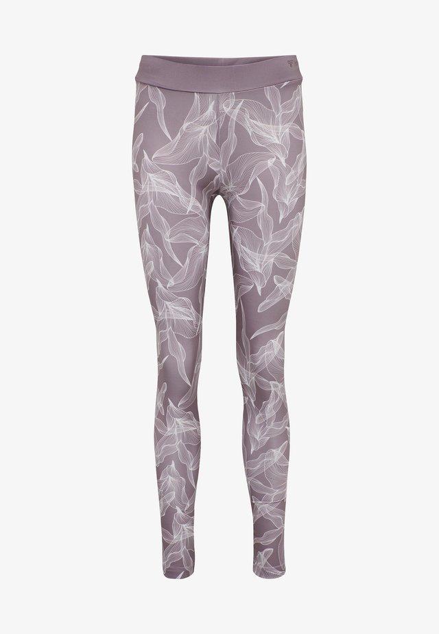 HMLALBEN  - Legging - purple/velvet