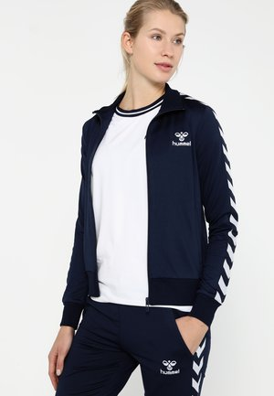 NELLY ZIP JACKET - Kurtka sportowa - black iris