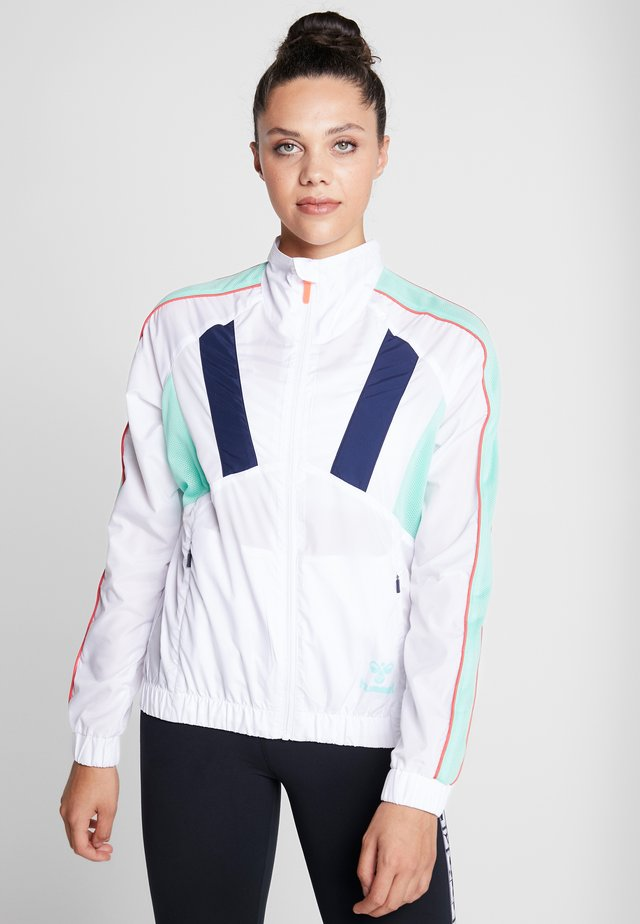 TROPHY ZIP JACKET - Training jacket - white