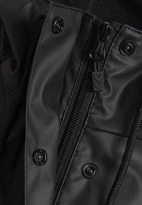 Hummel - HMLJOY  - Regnjakke / vandafvisende jakker - black - 6