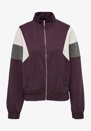 Training jacket - deep purple