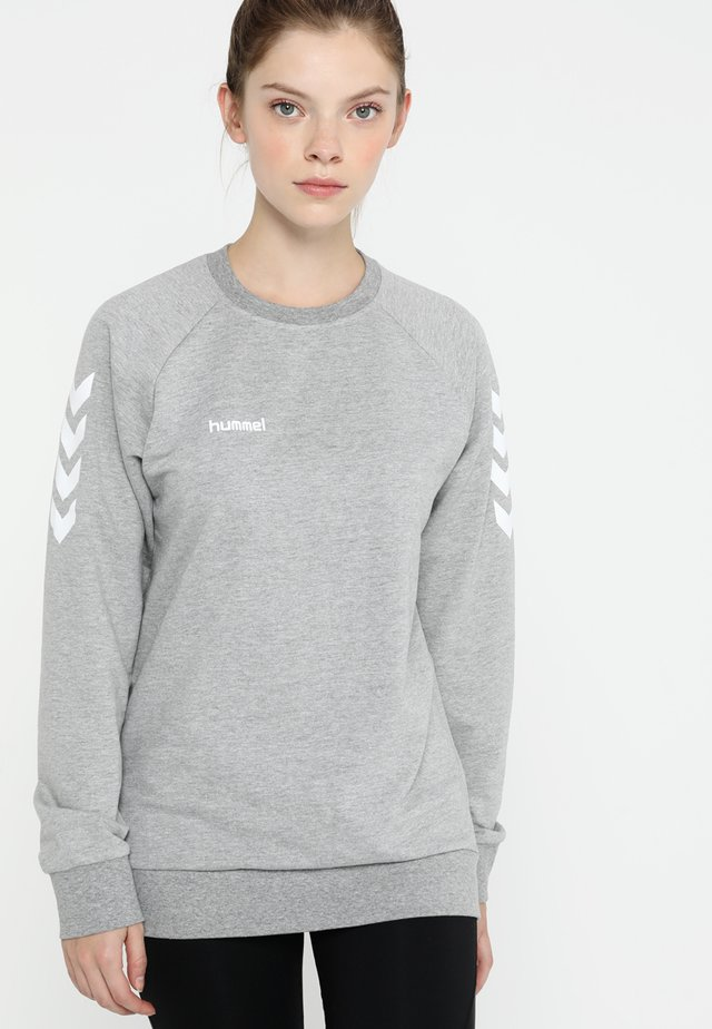 GO WOMAN - Sweatshirt - grey melange