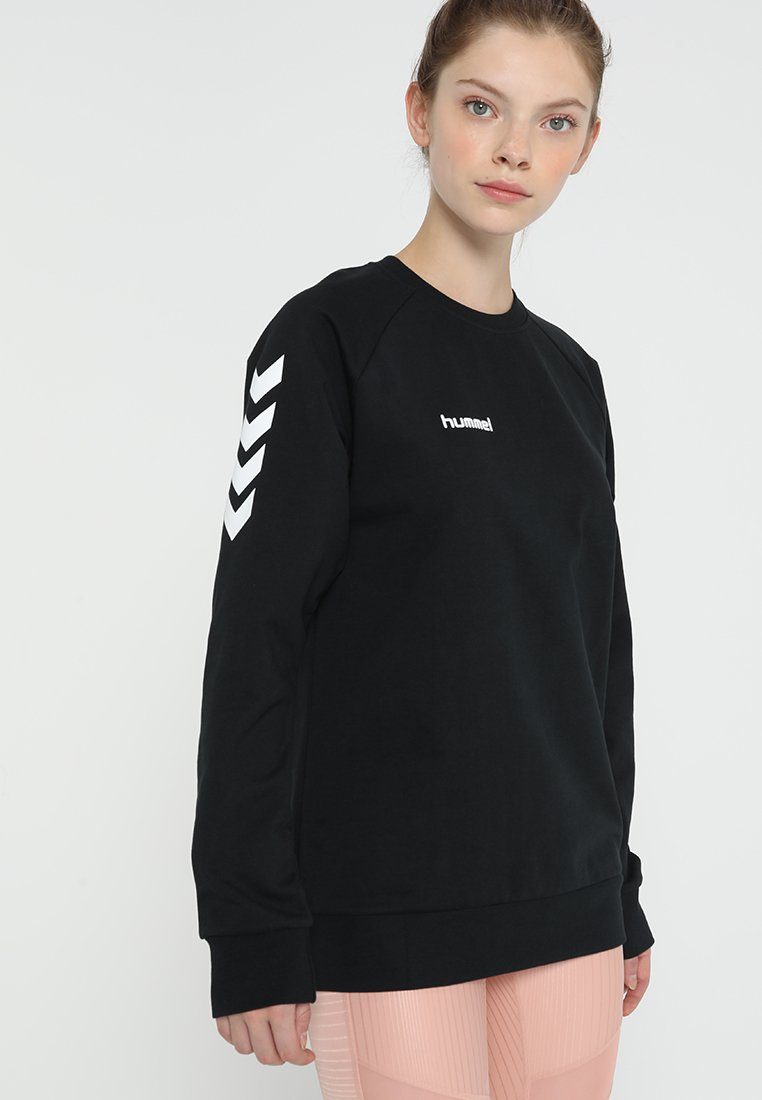 Hummel - GO WOMAN - Sudadera - black