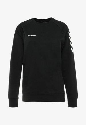 GO WOMAN - Sweatshirt - black