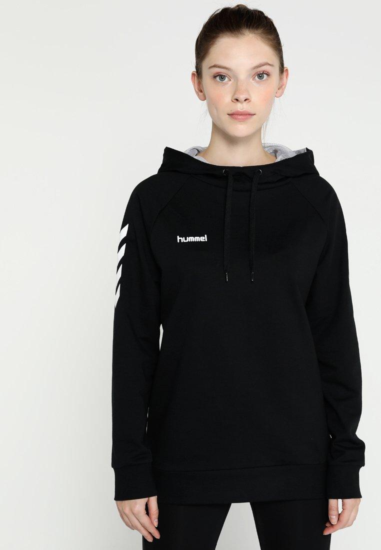 Hummel - HOODIE WOMAN - Jersey con capucha - black