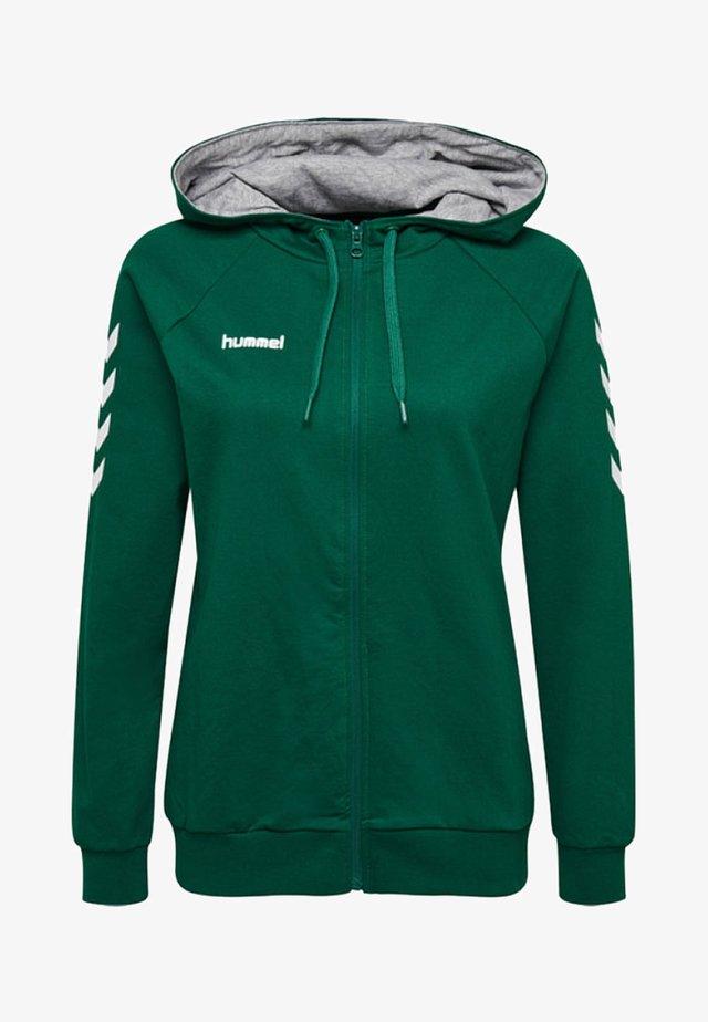 HMLGO - Sweatjakke /Træningstrøjer - evergreen