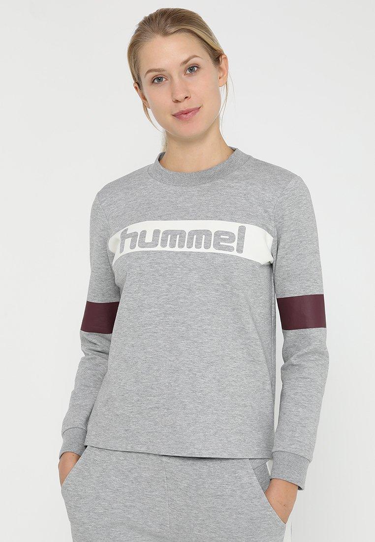 Hummel - OLIVIA - Sweatshirt - grey melange
