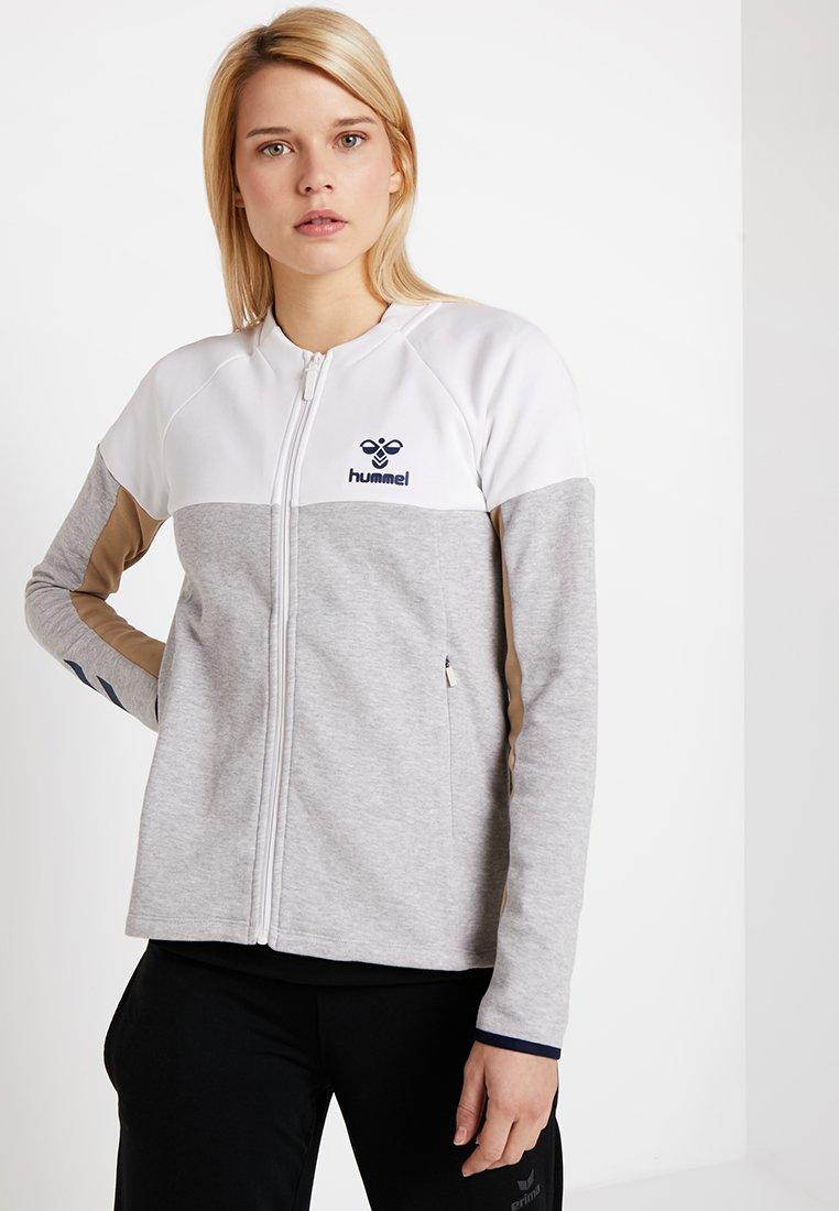 Hummel - ZIP JACKET - Training jacket - grey melange