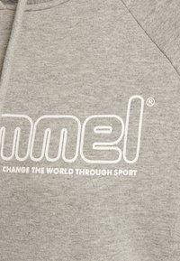Hummel - HMLNONI  - Hoodie - grey melange - 3