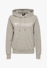Hummel - HMLNONI  - Hoodie - grey melange - 0