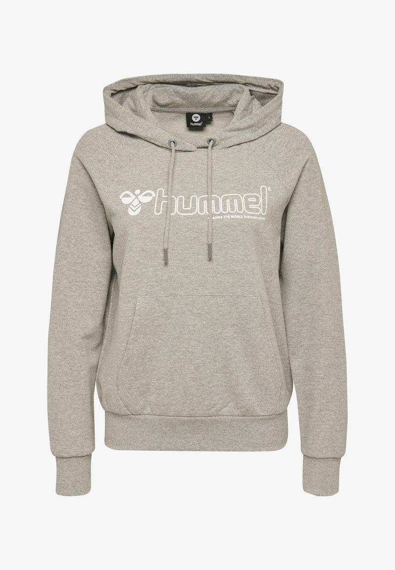 Hummel - HMLNONI  - Hoodie - grey melange