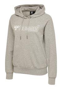 Hummel - HMLNONI  - Hoodie - grey melange - 2