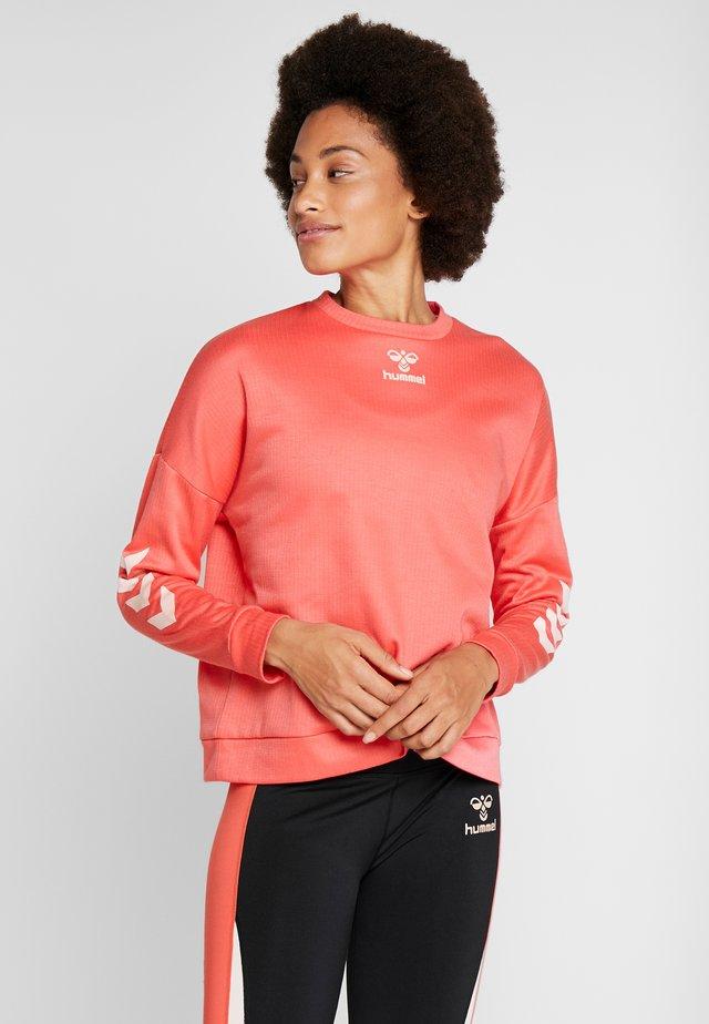 COZY - Sweatshirt - calypso coral